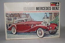 MONOGRAM CLASSIC MERCEDES BENZ VINTAGE MODEL KIT, 1:24 SCALE, BOXED