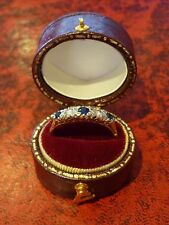 18ct Yellow Gold Antique Diamond & Sapphire Five Stone Ring Size Q+ 18k