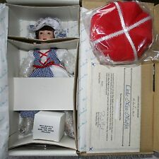 "Danbury Mint The Story Book Doll Collection ""Little Miss Muffet"" 11"" Doll w/COA"