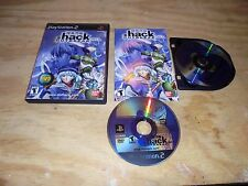 Dot .hack Outbreak Part 3 PS2 with manual case DVD