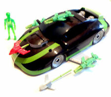 "BEN 10 cartoon 10"" long CAR vehicle with exclusive Ben Figure toy"