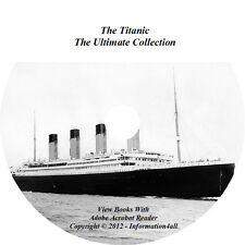 The Titanic, Ultimate Collection 11 Books, 1 Audio Book, 1 Video on CD / DVD