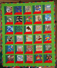 Hand Made I-SpyChildrens or Baby Patchwork Quilt or Floor Mat