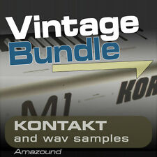 M1 + 01W + X5 SAMPLE BUNDLE for KONTAKT .nki INSTRUMENTS & WAV FILES