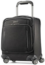 Samsonite Luggage Silhouette XV Spinner Boarding Bag Carry On Suitcase - Black