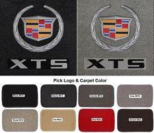 Lloyd Mats Cadillac Crest &  XTS Letters Classic Loop 4 Pc Floor Mats (2013-15)