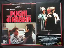 FOTOBUSTA CINEMA - PUGNI DI RABBIA - R. MEMPHIS - 1991 - DRAMMATICO - 04