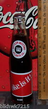 1982 COKE IS IT ! BOTTLER MEETING FEBRUARY 198210 OUNCE GLASS COCA - COLA BOTTLE