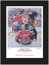 Hockey su ghiaccio Brad voth Limited Edition art print da Patrick J. Killian