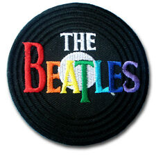 The Beatles Patch Iron on Harley Music Biker Rock Band Logo Rider Punk Sew Pop