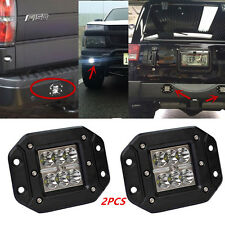 18W CREE LED Offroad Pickup SUV 4WD 4X4 Work Driving Spot Beam Light Bar 12V 2PC