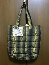 Authentic Brand new Yayoi Kusama & UNIQLO Tote bag yellow and black Polka dot