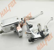 "1"" Chrome Brake Master Cylinder Clutch Levers YAMAHa V Star Classic 650"