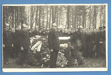Antique post mortem Man in casket ~ 1927s funeral photo   B 2115