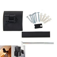 Black Wall Mount Plastic Metal Clamping Bracket For Bose Lifestyle UB-20 Speaker