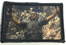 Platoon Movie RHAH Morale Patch Military Tactical Army Flag USA Hook Badge