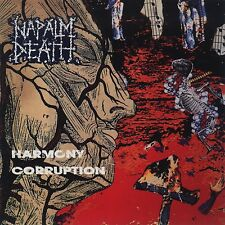 "Napalm Death ""Harmony Corruption"" CD - NEW!"