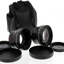 Tele/Wide Angle Lens kit for Sony Handycam Camcorders