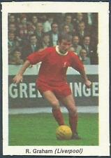 MY FAVOURITE SOCCER STARS 1970-SCORCHER- #21-LIVERPOOL-BOBBY GRAHAM