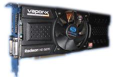 Scheda grafica Radeon HD 5870 Vapor-X SAPPHIRE PCIe 1gb per PC/Mac Pro 1.1/5.1 #80