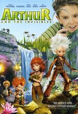 Arthur and the Invisibles (2009, REGION 1 DVD New)