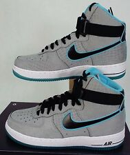 Mens 10.5 NIKE Air Force 1 Hi Comfort PRM Reflect Silver Shoes $145 555107-002