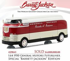 1:64 Greenlight *HOBBY EXCLUSIVE* 1950 General Motors FUTURLINER BARRETT JACKSON