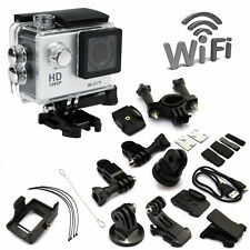 SJCAM WIFI SJ4000 Waterproof Sport Cam Full HD 1080P Bike Action Camera DV White