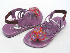 SO CHEAP! GOOD LUCK STRAPPY SANDALS SHOES 3-4 yo SZ 11/27 MADE IN KOREA