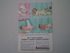 advertising Pubblicità 1964 PANNOLINI SANTO DASSO