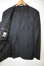 Armani Collezioni Georgio Black Two Button Suit Size 46 L