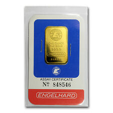 1 oz Gold Bar - Engelhard (In Assay) - SKU #64785