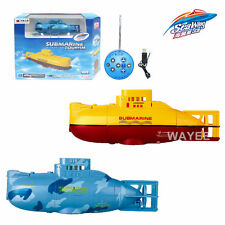 6CH Electric Radio Remote control rc RTR mini submarine German U18 Ship Boat