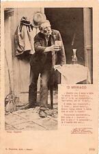 NAPOLI - Costumi   :  'O MBRIACO..................Fotog. Caggiano