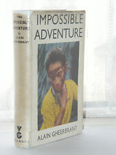 Alain Gheerbrant Impossible Adventure 1st 1953 Amazon