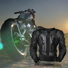Men Motorcycle Off-Road Motocross Jacket Armor Body Protection Black XL