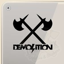PEGATINA DEMOLITION BMX PARK STREET VINYL STICKER DECAL AUFKLEBER AUTOCOLLANT