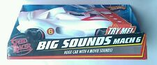 "NEW HOT WHEELS Speed Racer Big Sounds 17""inch Mach 6"