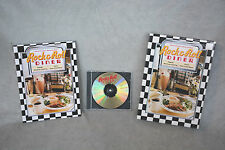 ROCK & ROLL DINER COOKBOOK & COMPACT DISC CD RECIPES AND MUSIC FROM 50's 60's