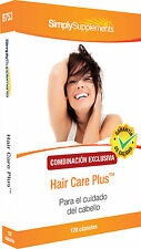 Simply Supplements Hair Care Plus 120 Cápsulas (B753)