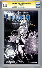 LADY DEATH – THE WICKED #1/2 CGC-SS 9.8 SIGNED CREATOR BRIAN PULIDO AVATAR 2005
