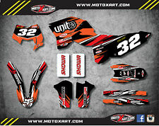 KTM EXC - XCF  2008 - 2011 DIGGER style sticker kit / decals / graphics