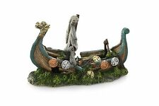 Viking Boat Shipwreck Decorative Aquarium Ornament Decoration Fish Tank Bowl