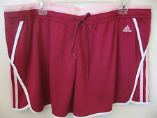 "Womens Athletic Shorts XL adidas NEW Pink Fuchsia Fitness 4"" Inseam Gym Running"