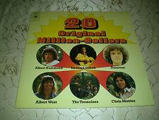 """VARIOUS (LP) """"20 ORIGINAL MILLION-SELLERS"""" [CBS 1976 COHEN/DONOVAN/TITANIC...] M"""