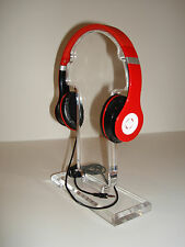 HEADPHONE + LOTUS Red Stereo Headset Earphone for Phone PC MP3  MP4
