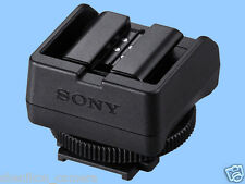 New Sony ADP-MAA External Flash Shoe Adapter Minolta NEX Alpha A6300 A7 A7R A7S