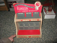 Vintage Ronson Lighter Counter Top Display