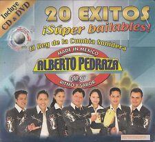 Alberto Pedraza Con Su Ritmo Y Sabor 20 Exitos Super Bailables CD+DVD New Sealed