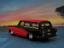 AMC NASH RAMBLER HOT ROD STATION WAGON 1/64 SCALE DIECAST MODEL - DIORAMA